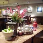 foto mesa mostrador decorada